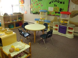 Two Year Old Classroom.