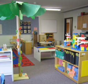 Three/Four/Five Year Old Classroom.